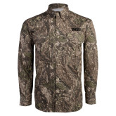 Camo Long Sleeve Performance Fishing Shirt-Siena