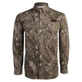 Camo Long Sleeve Performance Fishing Shirt-Siena