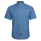 Denim Shirt Short Sleeve-Siena
