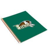 College Spiral Notebook w/Gold Coil-Official Logo