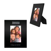 Black Metal 4 x 6 Photo Frame-Siena Engraved, Personalized