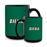 Full Color Black Mug 15oz-Siena
