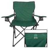 Deluxe Green Captains Chair-Siena w/Paw
