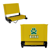 Stadium Chair Gold-Siena w/Paw