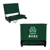 Stadium Chair Dark Green-Siena w/Paw