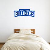 1 ft x 3 ft Fan WallSkinz-Saint Louis Billikens in Frame