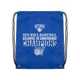 Royal Drawstring Backpack-2019 Mens Basketball Champions