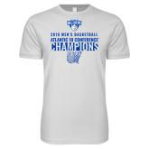Next Level SoftStyle White T Shirt-2019 Mens Basketball Champions