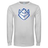 White Long Sleeve T Shirt-Billiken