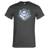 Charcoal T Shirt-Billiken Distressed