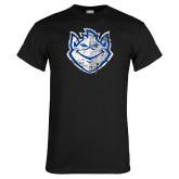 Black T Shirt-Billiken Distressed