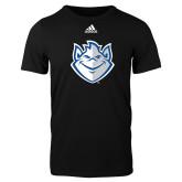 Adidas Black Logo T Shirt-Billiken