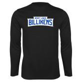 Performance Black Longsleeve Shirt-Saint Louis Billikens in Frame