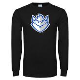 Black Long Sleeve T Shirt-Billiken