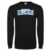 Black Long Sleeve T Shirt-Saint Louis Billikens in Frame