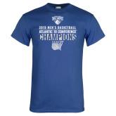 Royal T Shirt-2019 Mens Basketball Champions
