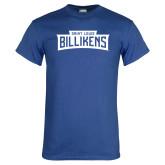 Royal T Shirt-Saint Louis Billikens in Frame