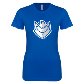 Next Level Ladies SoftStyle Junior Fitted Royal Tee-Billiken