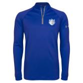 Under Armour Royal Tech 1/4 Zip Performance Shirt-Billiken