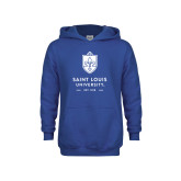 Youth Royal Fleece Hoodie-Primary University Mark - Est Year