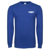 Royal Long Sleeve T Shirt-Billiken Club - In Contanier