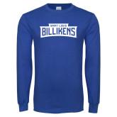 Royal Long Sleeve T Shirt-Saint Louis Billikens in Frame