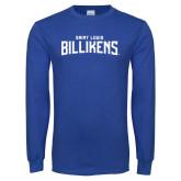 Royal Long Sleeve T Shirt-Saint Louis Billikens