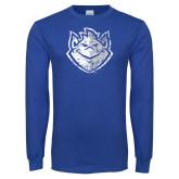 Royal Long Sleeve T Shirt-Billiken Distressed