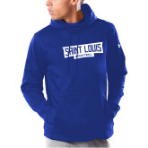 Under Armour Royal Armour Fleece Hoodie-Saint Louis Basketball - In Container