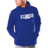 Under Armour Royal Armour Fleece Hoodie-Saint Louis Soccer - In Container