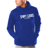 Under Armour Royal Armour Fleece Hoodie-Saint Louis Volleyball