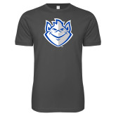 Next Level SoftStyle Charcoal T Shirt-Billiken