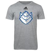 Adidas Sport Grey Logo T Shirt-Billiken