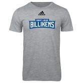 Adidas Sport Grey Logo T Shirt-Saint Louis Billikens in Frame