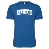 Next Level SoftStyle Royal T Shirt-Saint Louis Billikens in Frame