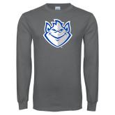 Charcoal Long Sleeve T Shirt-Billiken