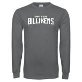Charcoal Long Sleeve T Shirt-Saint Louis Billikens