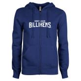 ENZA Ladies Royal Fleece Full Zip Hoodie-Saint Louis Billikens