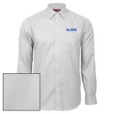 Red House White Diamond Dobby Long Sleeve Shirt-Billikens