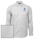 Red House White Diamond Dobby Long Sleeve Shirt-Primary University Mark