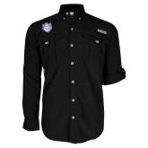 Columbia Bahama II Black Long Sleeve Shirt-Billiken