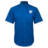 Royal Twill Button Down Short Sleeve-Billiken