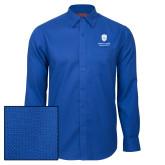 Red House Royal Diamond Dobby Long Sleeve Shirt-Primary University Mark