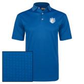 Callaway Magnetic Blue Jacquard Polo-Billiken