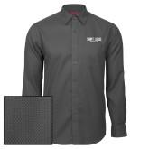 Red House Dark Charcoal Diamond Dobby Long Sleeve Shirt-Billiken Club
