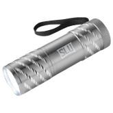 Astro Silver Flashlight-SLU in Frame Engraved