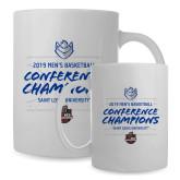 Full Color White Mug 15oz-2019 A10 Basketball Champions