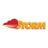 Large Decal-Storm Secondary Logo, 12 inches wide