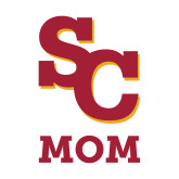 Mom Decal-SC Mom, 6 inches tall