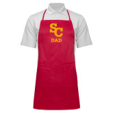 Full Length Red Apron-SC Dad